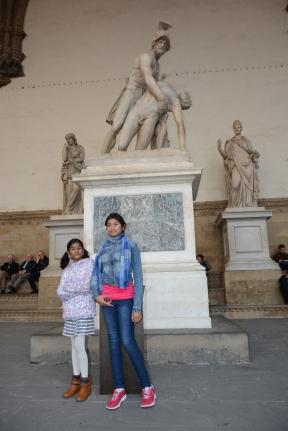 Open air gallery- Loggia dei Lanzi