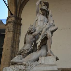 Giambologna's Rape of the Sabine Woman