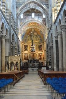 Church where Galileo watched the lantern move