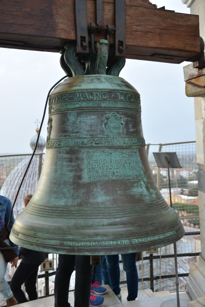 The bell at the top of the tower