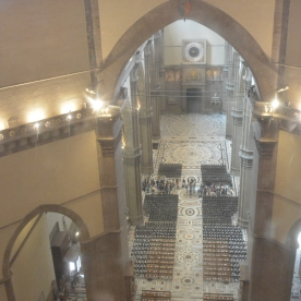 The spartan interior