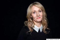 """FILE - This Oct. 16, 2012 file photo shows author J.K. Rowling at an appearance to promote her latest book """"The Casual Vacancy,"""" at The David H. Koch Theater in New York. Harry Potter fans can look forward to a Halloween treat, with some tricks, from Rowling. In an announcement posted Friday, Oct. 24, 2014, on her web site, www.pottermore.com, the author revealed that she has prepared a 1,700 word story about the witch and former Hogwarts professor Dolores Umbridge. (Photo by Dan Hallman/Invision/AP, File)"""