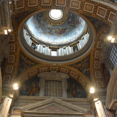 Michaelangelo's Dome at a height of 119m