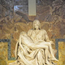 Michaelangelo's Pieta - done when he was just 25