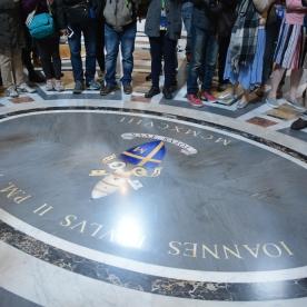 Vatican Basilica floor detail