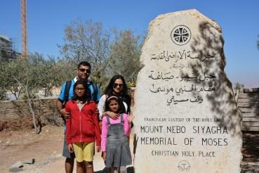 At the Memorial of Moses