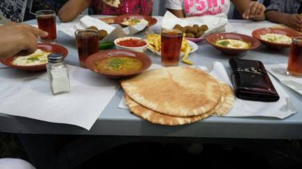 Dinner at Hashim's in Downtown Amman