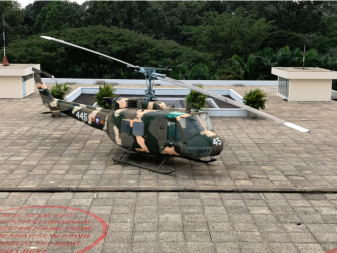 Helipad on the roof