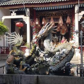 Dragon outside the Qang Kong Pagoda