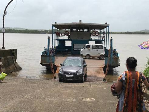 Jhankar which ferries vehicles and people