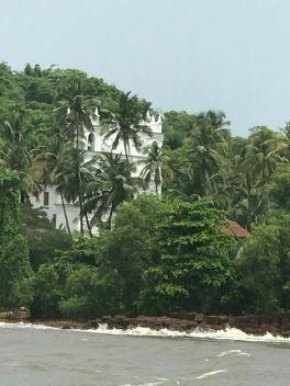 Church in which Amar, Akbar, Antony was shot