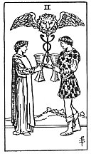 tarot-two of cups