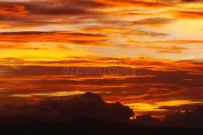 cirrus-clouds-orange-yellow-sunset-bright-sky-filled-cirrocumulus-49076281