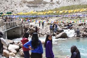 A visit to a Tibetan monastery