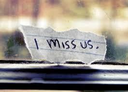 i miss us