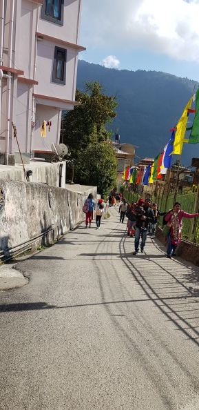Way to the monastery
