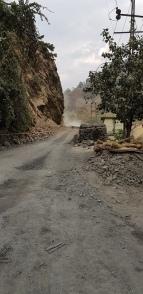 Road blocked