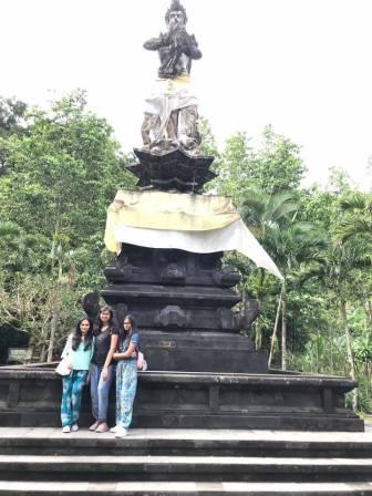 God Indra's statue