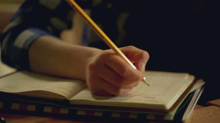 writing at night